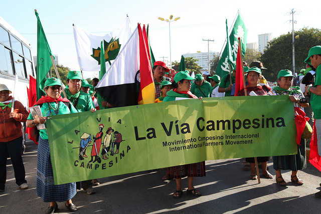 La Via Campesina in action
