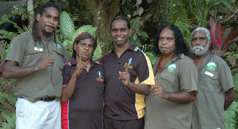 Guides from the Kuku Yalanji people